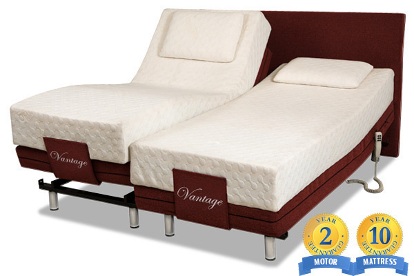Vantage Motorised Bed